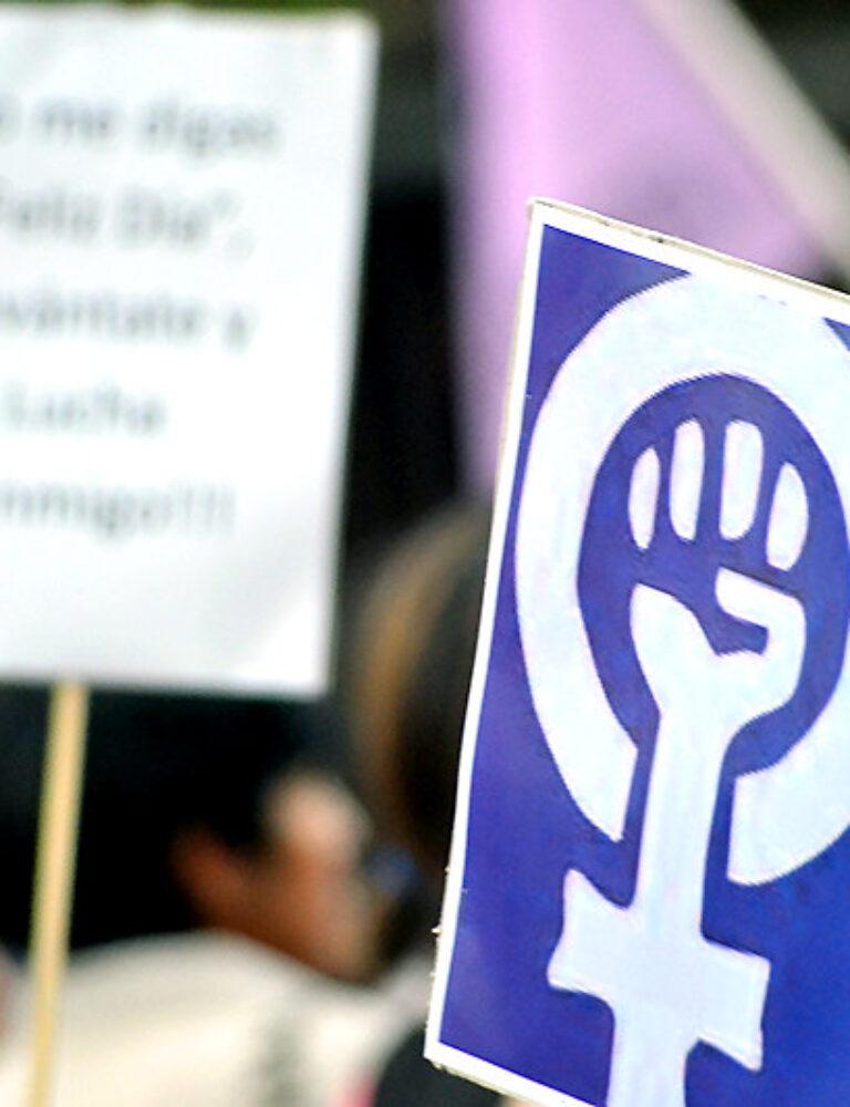 marcha feminista violencia hacia contra mujeres